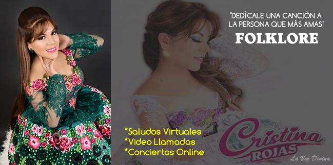 show virtual cantante folklorica