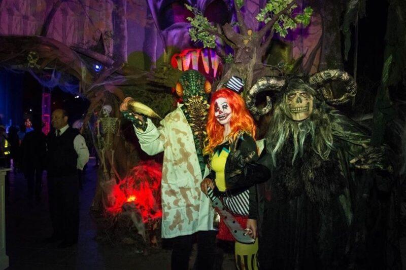 artistas en show de hora loca de terror con tematica personalizada