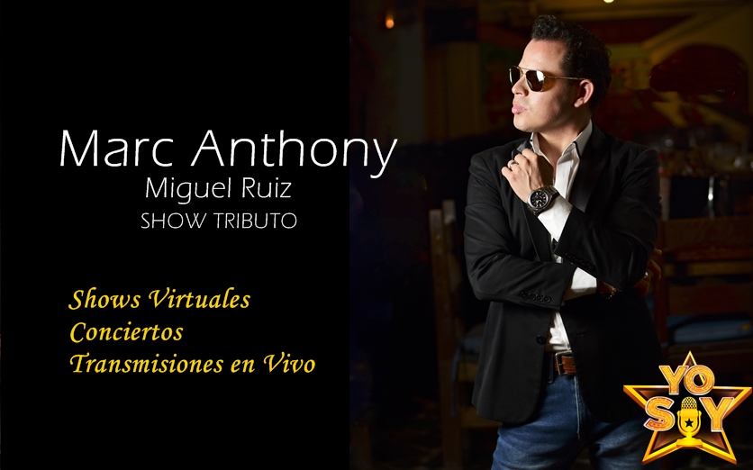 SHOW VIRTUAL MARC ANTHONY