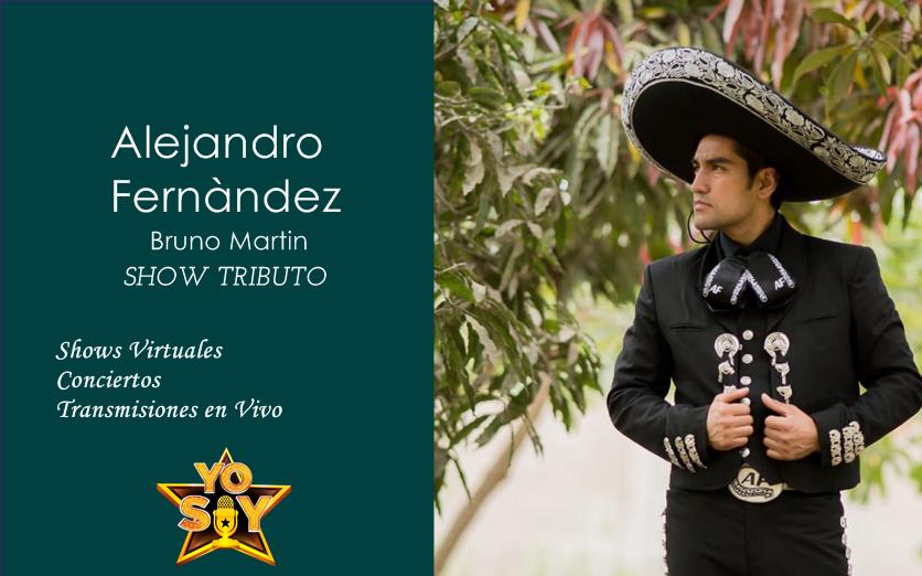 SHOW VIRTUAL YO SOY ALEJANDRO FERNANDEZ
